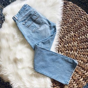 Low Rise Flare Light Wash {Express} Jeans